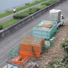 資材置き場の防犯対策