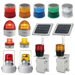 電池式回転灯の種類