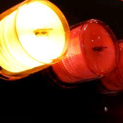 パトライト電池式回転灯