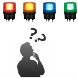船舶用回転灯の色について