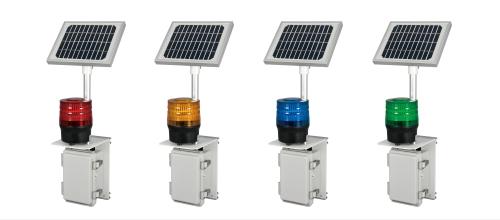 ソーラー式LED回転灯 φ90 ニコソーラー・タフ(NICO SOLAR TOUGH) VM09S型